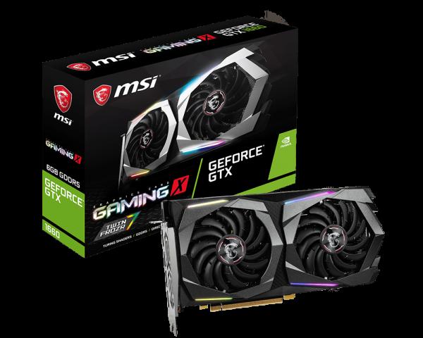 【MSI 微星】顯示卡(GeForce GTX 1660 6G)